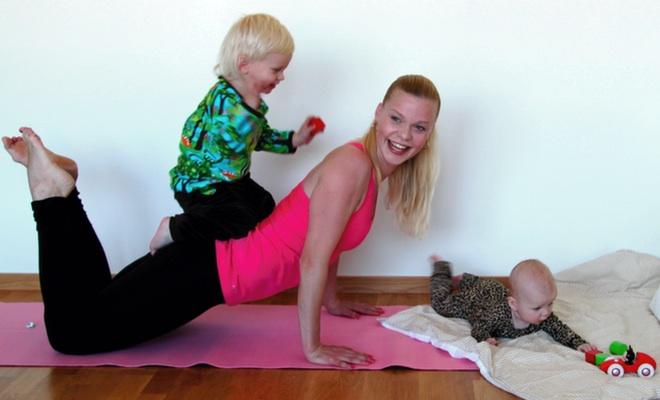 Barnanpassa träningsschemat - boka om istället för att boka av
