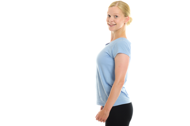 Bra hållning ger dig pondus och mindre värk