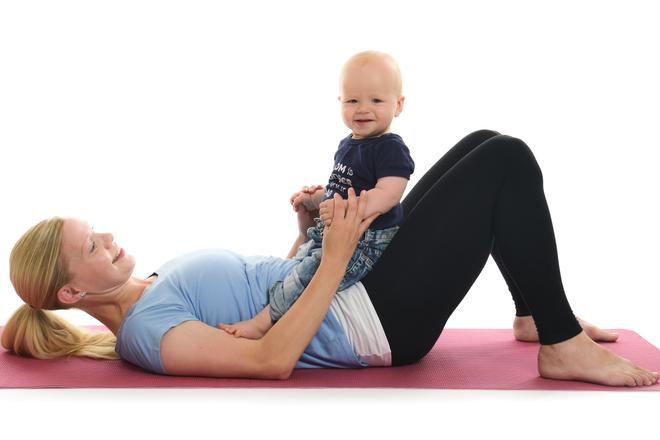 Komma igång med träningen efter förlossning
