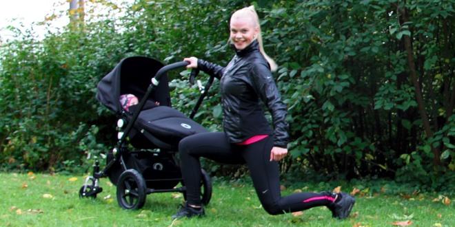Mammaiformtraeningsprogram barnvagn