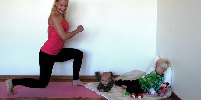 Mammaiformtraeningsprogram ben-bak