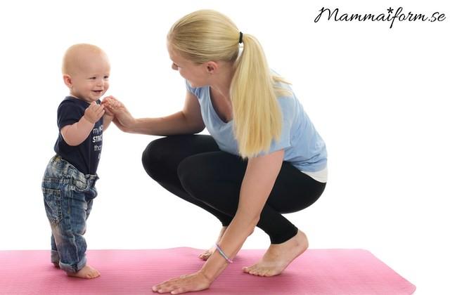 Bebisen är din bäste PT