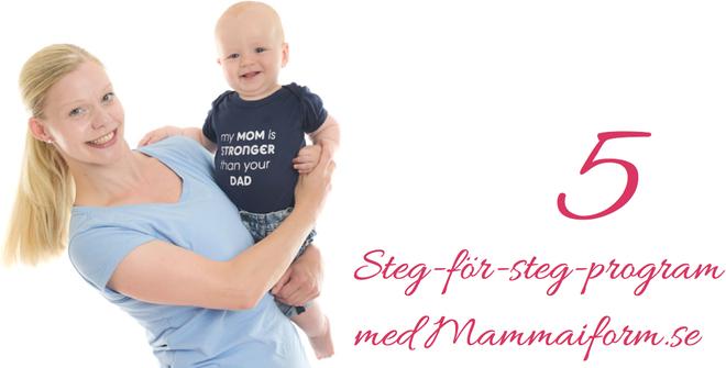 träning för mammor