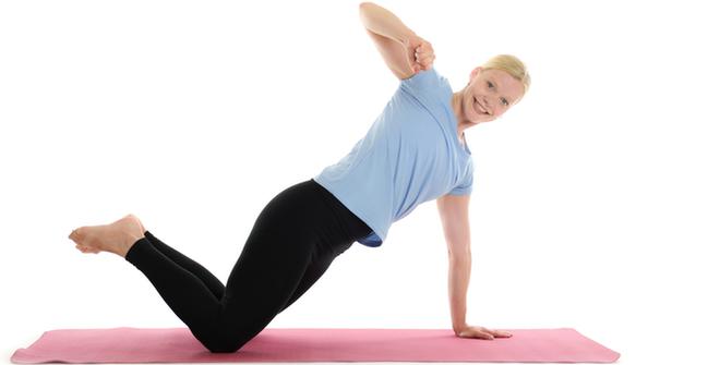 träna höft och core