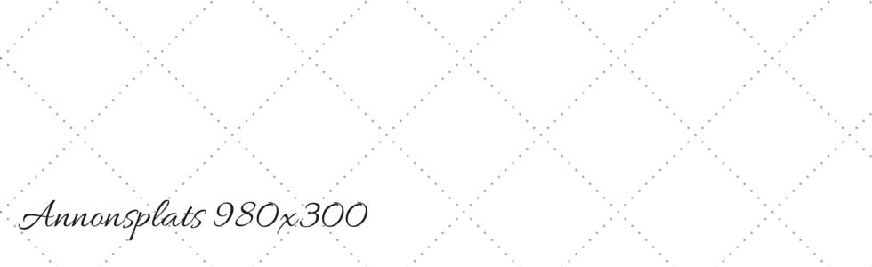 Annonsplats 980x300