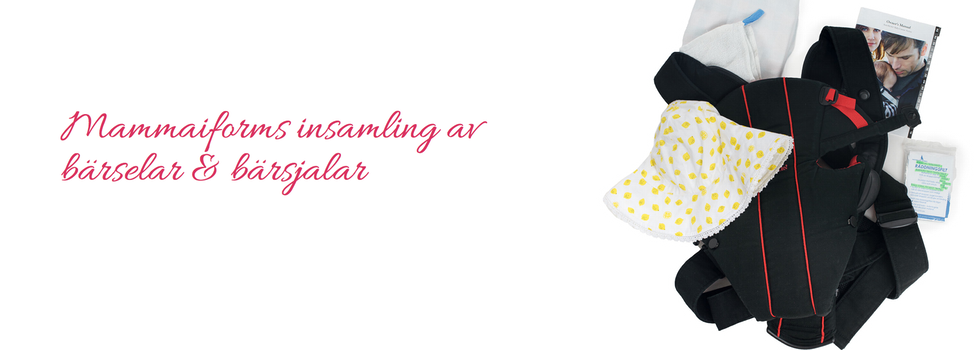 Mammaiforms insamling av bärselar och bärsjalar